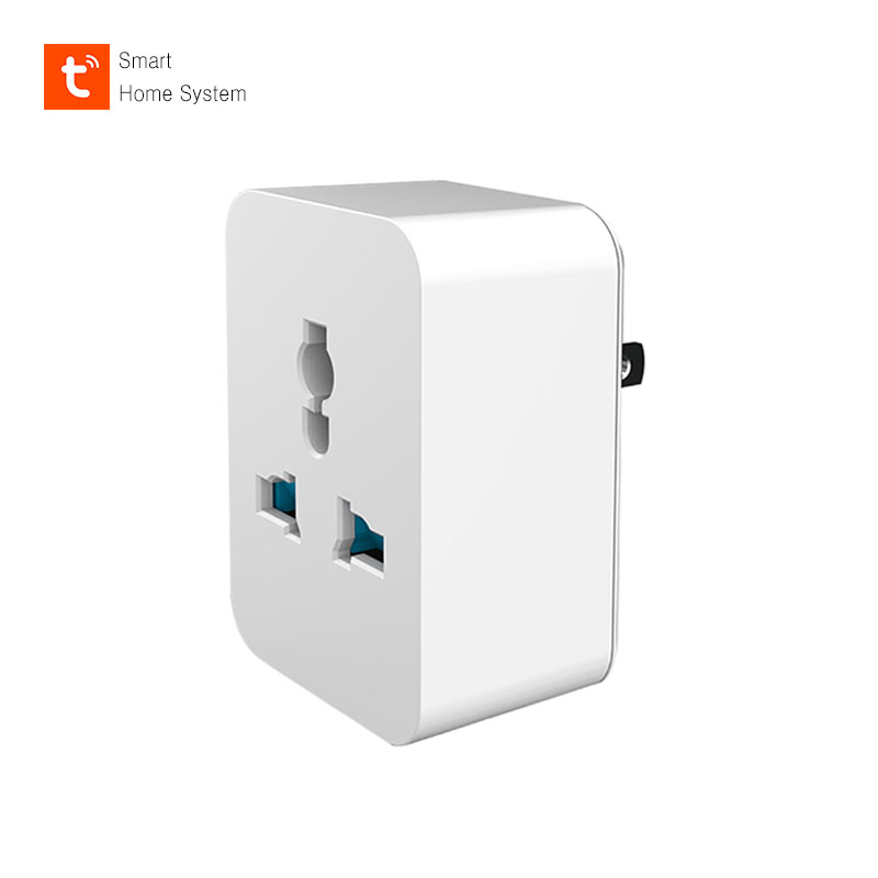 WIFI Smart Socket Universal Plug 100~240V Remote Control Smart Timing Switch Work For Amazon Alexa/Google Assistant