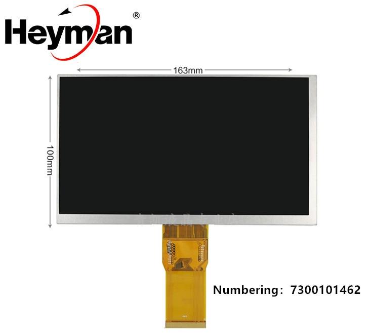 Heyman 7 pulgadas 1024*600 50 pin 7300101462 E242868 cambio de pantalla LCD