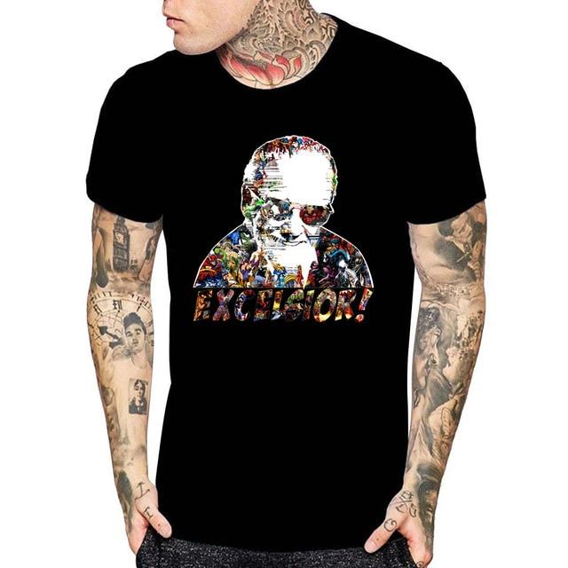 cbd835ecb6 Divertido Stan Lee T camisa gracias por los recuerdos camiseta Stan Lee  película T Shirt camisetas