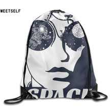 SAMCUSTOM 3D Print Cool Men Shoulders Bag Women Fabric Backpack Girls Beam Port Drawstring Travel Shoes Dust Storage Bags(China)