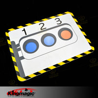 1pcs Stage Traffic Lights stage card magic props magician funny toys magic tricks