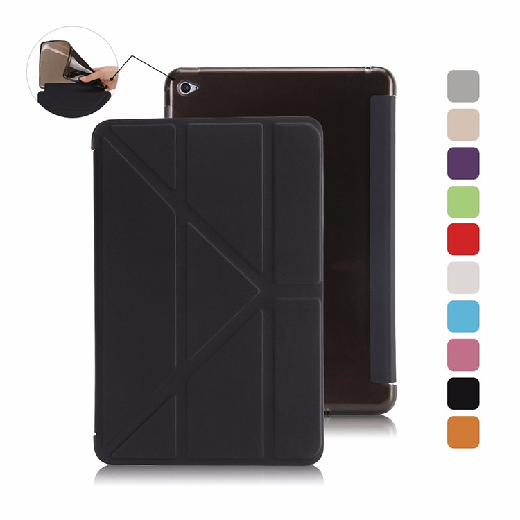 Smart case cover for Apple ipad mini 4 cover Magnet stand flip slim thin soft TPU silicone back full protection туалетная вода fleur de france туалетная вода fleur de france dеsirе 90 ml ж