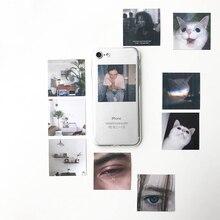 Для ins/малая карточка diy простая картонная прозрачный мягкий чехол для iphone 6/7 PLUS apple iphone 11 Pro Max 7 8 X XS XR защитный чехол для телефона