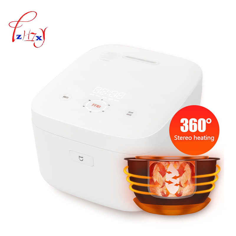 Home use Smart Electric Rice Cooker 3L  IH Heating cooker reservation timing function home appliances for kitchen 220v 1pc rice cooker parts paul heating plate 900w thick aluminum heating plate