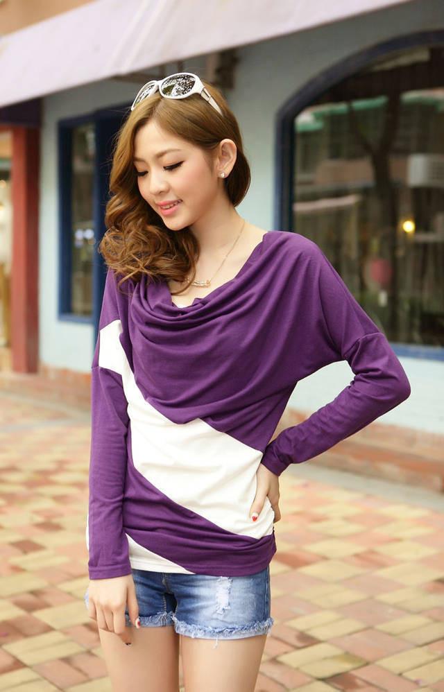 imixbox женская футболка широкий рукава футболки shit пост с ди Recover трикотаж пуловер для s-Размер 4xl w4099