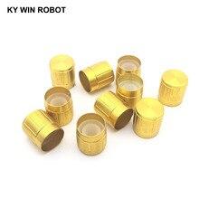 10PCS Potentiometer Plastic Knob 15*17MM Gold