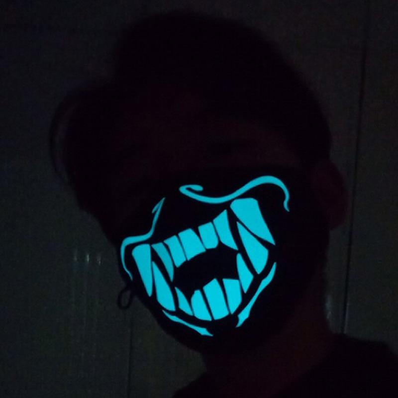 KDA KDA Akali  Mask Cosplay Akali Assassin Cosplay S8 Face Masks Glow In The Dark Carnival Christmas New Year Gifts Party Props3