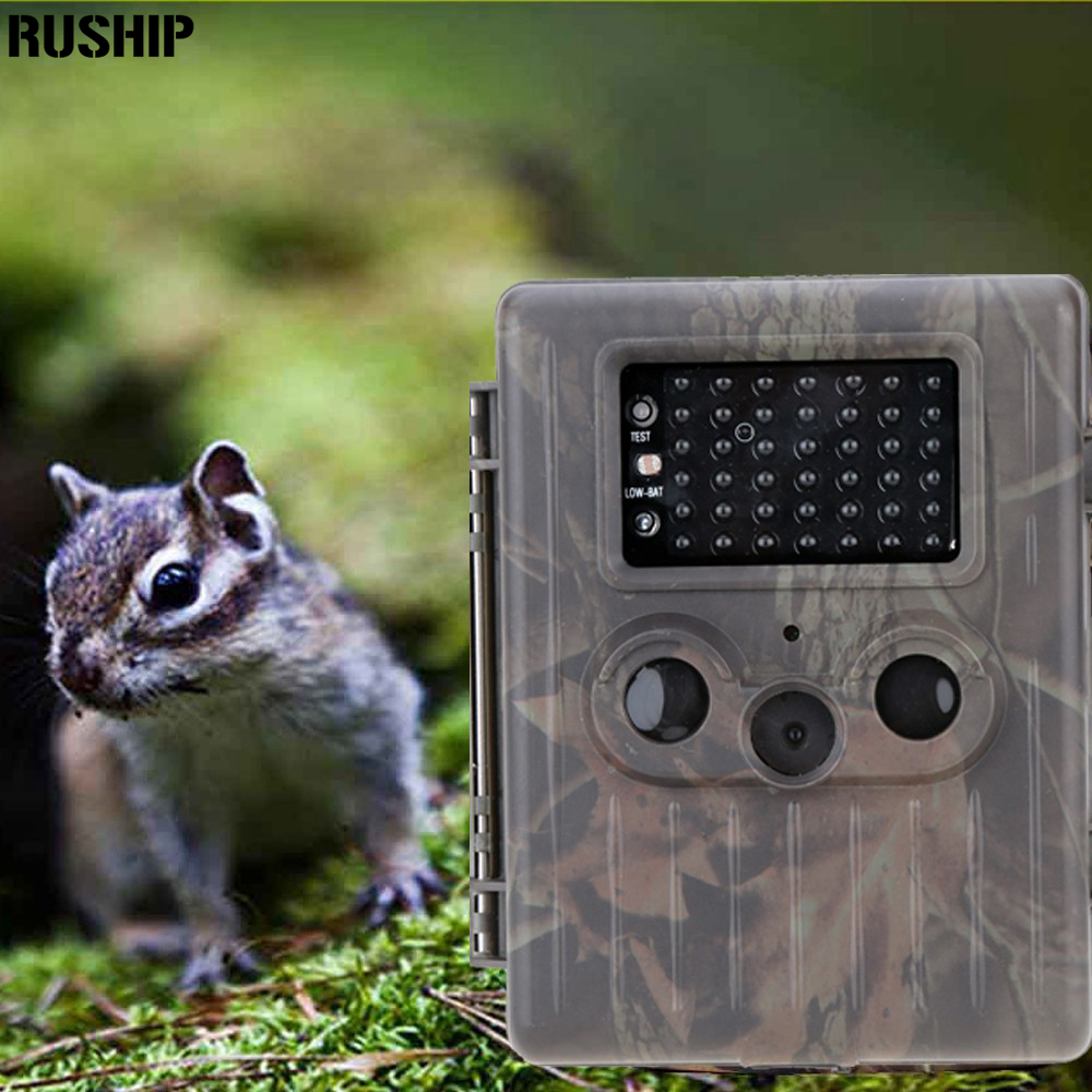 Hot Sale Hunting Camera HT-002AA Rain-proof HD Digital Infrared Scouting Cameras Trail Camera IR LED Video Recorder 12MP  ht 002li wildlife hunting camera hd digital infrared scouting trail camera ir led video recorder 12mp