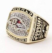 Que Puede Vencer A Nuestros Anillos, alta Calidad 2000 Baltimore Ravens Super Bowl Replica Anillo Campeonato Mundial Masculino