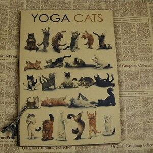 vintage lovely cat animal post