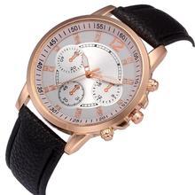 Relogio Masculino Quartz Watch Men Leather Casual Watches Men's Clock Male Sports Wristwatch montre homme erkek kol saati #C