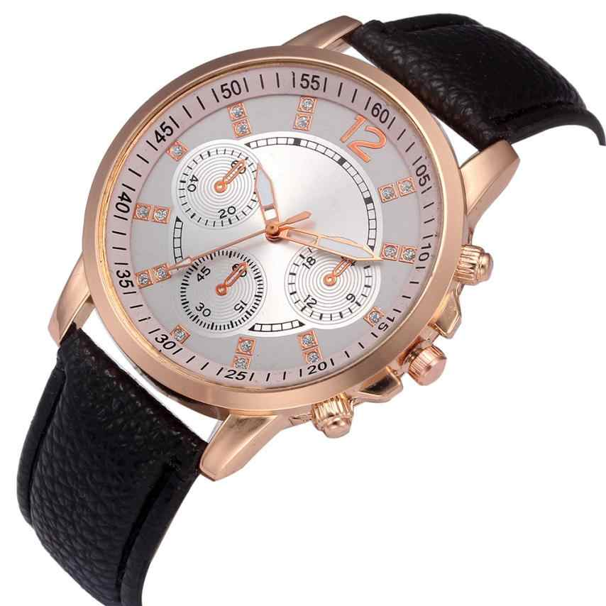 Relogio Masculino קוורץ שעון גברים עור מקרית שעונים גברים של שעון זכר ספורט שעוני יד montre homme erkek kol saati # C