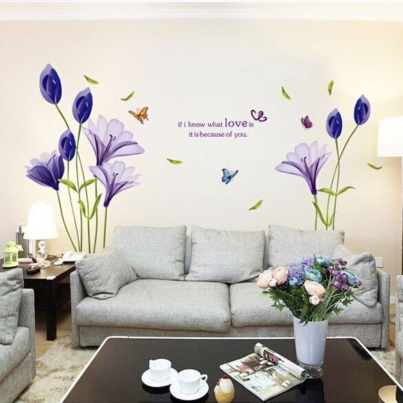 tulip border wall stickers - photo #40