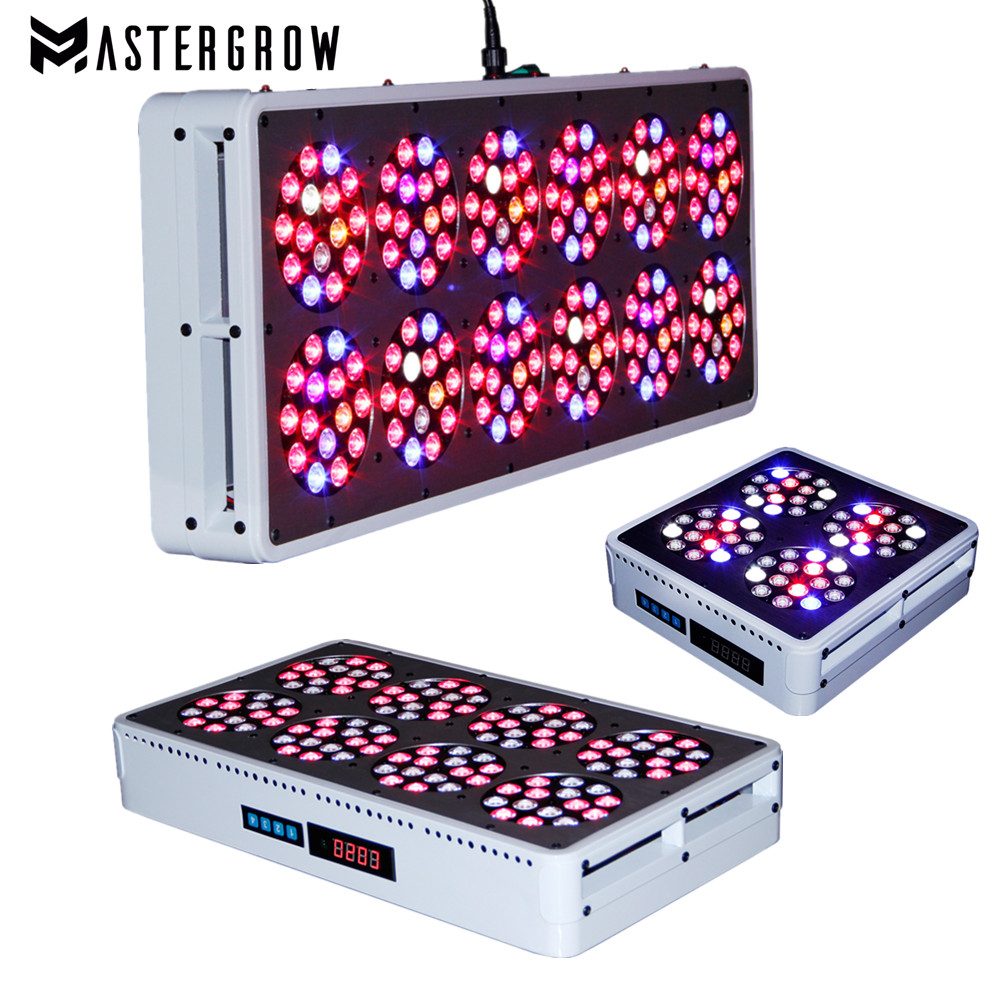 Dimmable Remote Control Apollo 4/8/12/20 Full Spectrum 300W/600W900W/1500W LED Grow Light For Indoor Plants Grow Greenhouse Tent