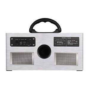 Image 5 - Abuzhen Bluetooth Speaker Portable Speaker Column Soundbar Wireless Speakers Stereo MP3 Music Player AUX TF Subwoofer Phones