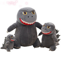 Super Cute Godzilla Samll Monsters Plush Toy Q Style Godzilla Doll Boy Children Birthday Gifts Free