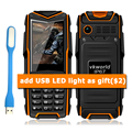 VKworld Stone V3 V3 Plus IP67 Waterproof Shockproof Dustproof Mobile Phone Power Bank Long Standby 5200mAh Russian Keyboard