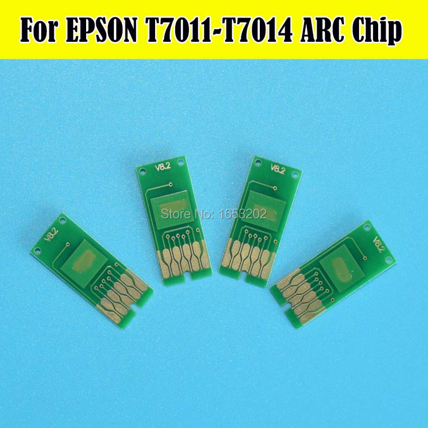 For EPSON T7011-T7014 ARC Chip 4