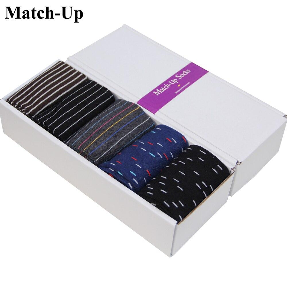 Pánská dárková krabička bavlněné ponožky Business Combed US Size (7.5-12) (5 párů / krabička)