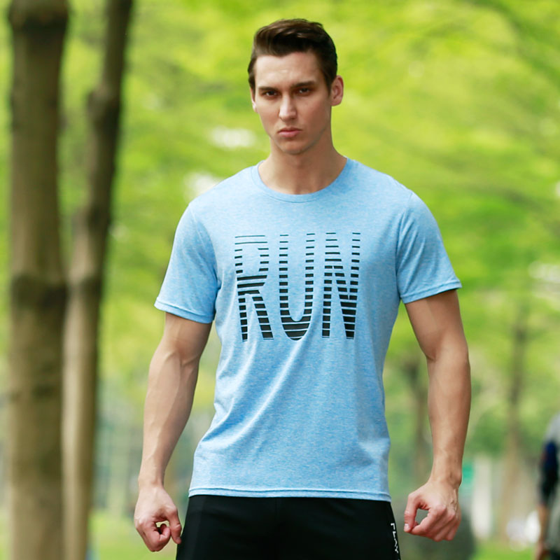 Quick Dry Compression T shirt Men Running Shirt Breathable Outdoor Bodybuilding Clothing Fitness Joggers Basketball font
