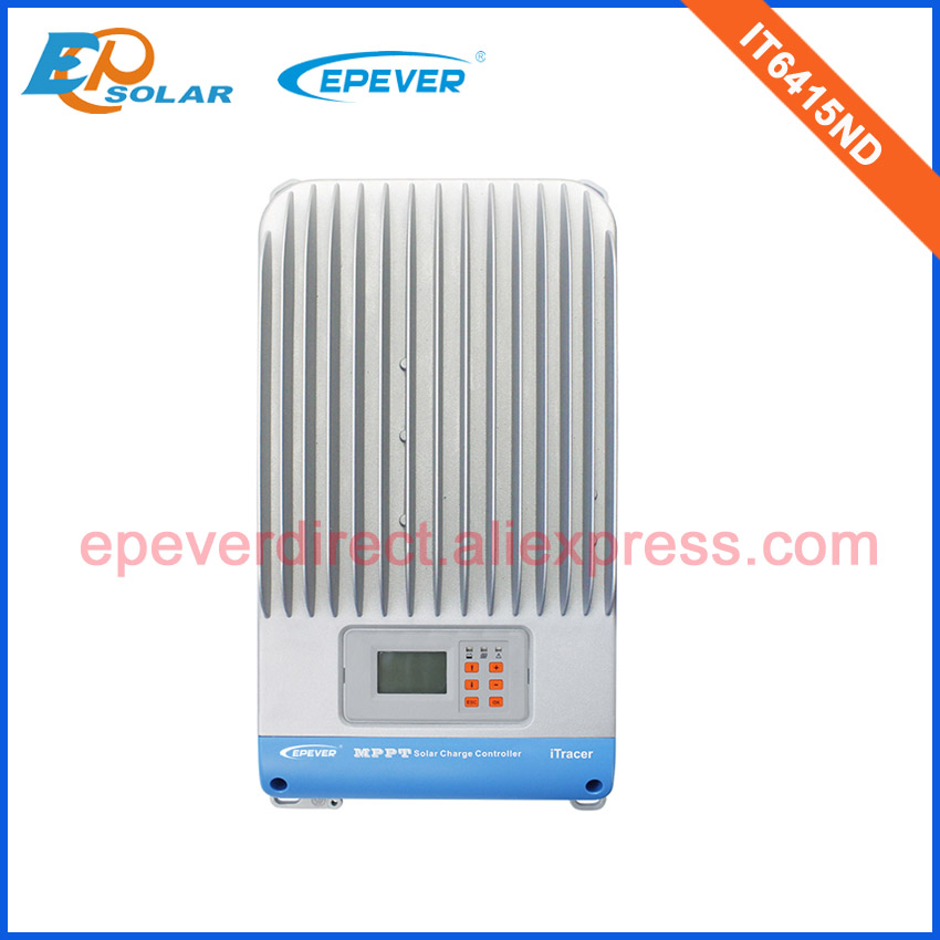 <font><b>60A</b></font> 12V/24V/36v/48v MPPT Solar Panel <font><b>Battery</b></font> Regulator Charge Controller IT6415ND