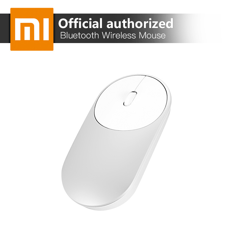 Xiaomi MI Bluetooth 4 0 2 4GHz Wireless Mouse Portable Optical Mice For PC Laptop Computer