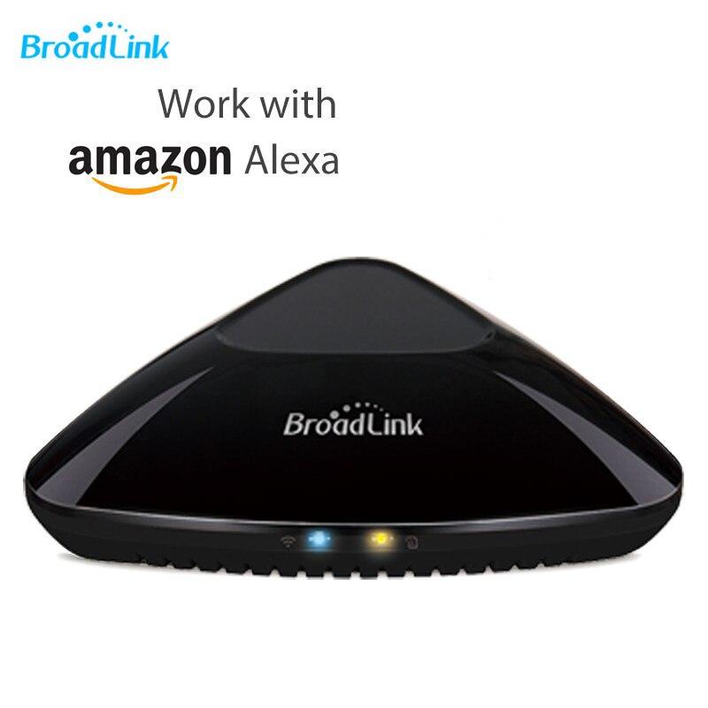 Broadlink RM Pro + Plus Compatível com Amazon Alexa Echo Wifi + IR + RF Controlador App Controle Remoto Universal dispositivos de casa