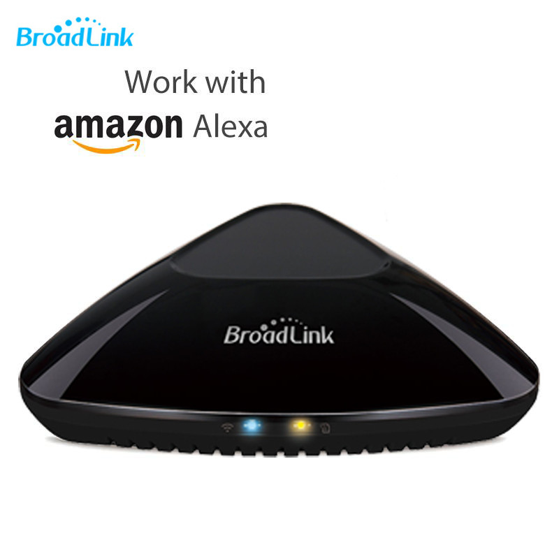 Broadlink RM Pro+ Plus Compatible With Amazon Alexa Echo Wifi+IR+RF Universal Remote Controller App Control Home Devices