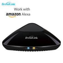 Broadlink RM Pro + Plus совместим с Amazon Alexa Echo Wifi + IR + RF универсальный пульт дистанционного управления ler App управление домашними устройствами