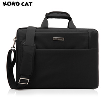 KKCAT Waterproof Crushproof 15.6 inch Notebook Computer Laptop Bag for Men Women Briefcase Shoulder Messenger Bag все цены