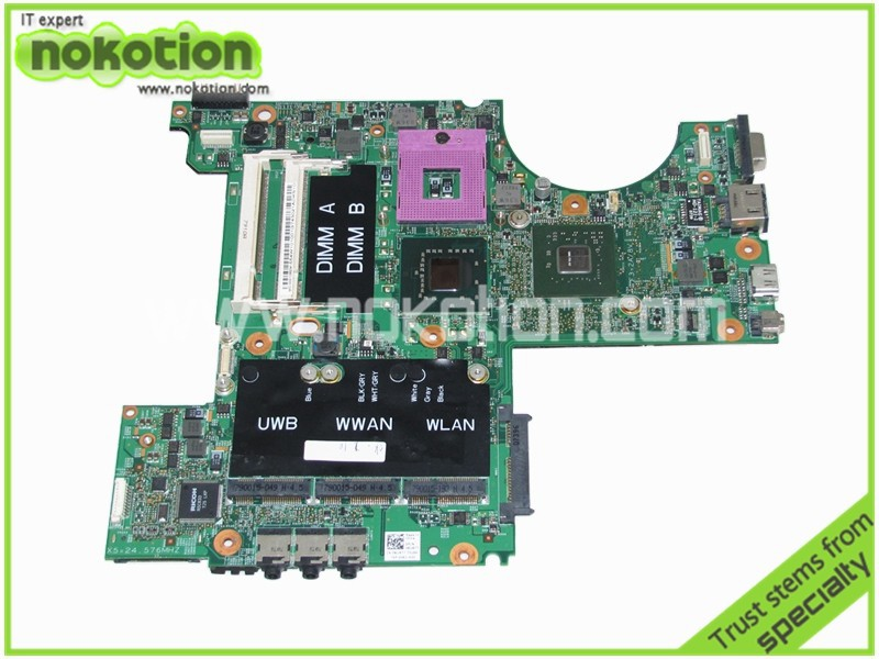 цены NOKOTION RU477 CN-0RU477 Laptop Motherboard for Dell XPS M1530 GeForce 8400M update graphics Mainboard