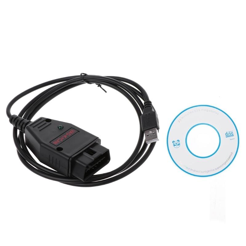 VAG-K + peut Commander 1.4 OBD2 Scanner de Diagnostic outil COM câble