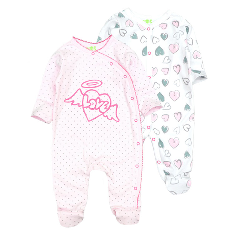 0ca76d3f8fb Near Cutest 2pcs lot Baby Romper Cotton Full Body Baby Girl Boy Clothes  Infant Overalls Romper Newborn Clothing Baby Product Tags