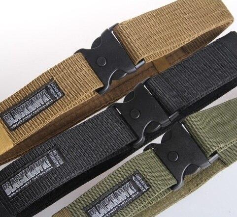 2018 Adult Men's Belts Outdoor Hunting Accessories Strengthen Thicker Belt Fan Equipment BLACKHAWK Army Tactical Outer Waistband