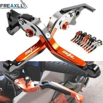 Para KTM DUKE DUKE390 250 390 2013-2018 2014 2015 2017 palancas de freno de embrague ajustables para motocicleta CNC extensibles