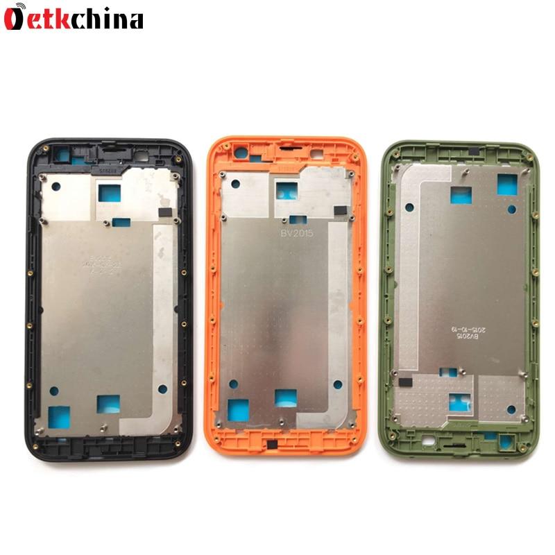 imágenes para Para Blackview BV5000 Marco Marco de La Pantalla LCD de Alta Calidad Teléfono Móvil de Reparación de Piezas de Reemplazo Para Blackview BV5000