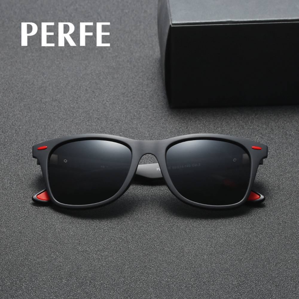 2018 Men Retro Driving Fishing TR90 HD Mirror Polarized Sunglasses Vintage New Eyewear Accessories Handsome Sun Glasses For Male