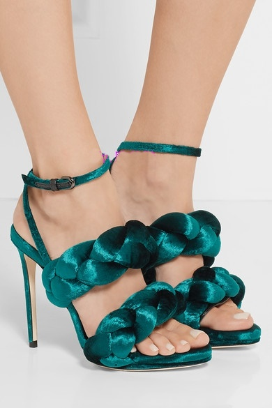 New arrivals braid stiletto shoes