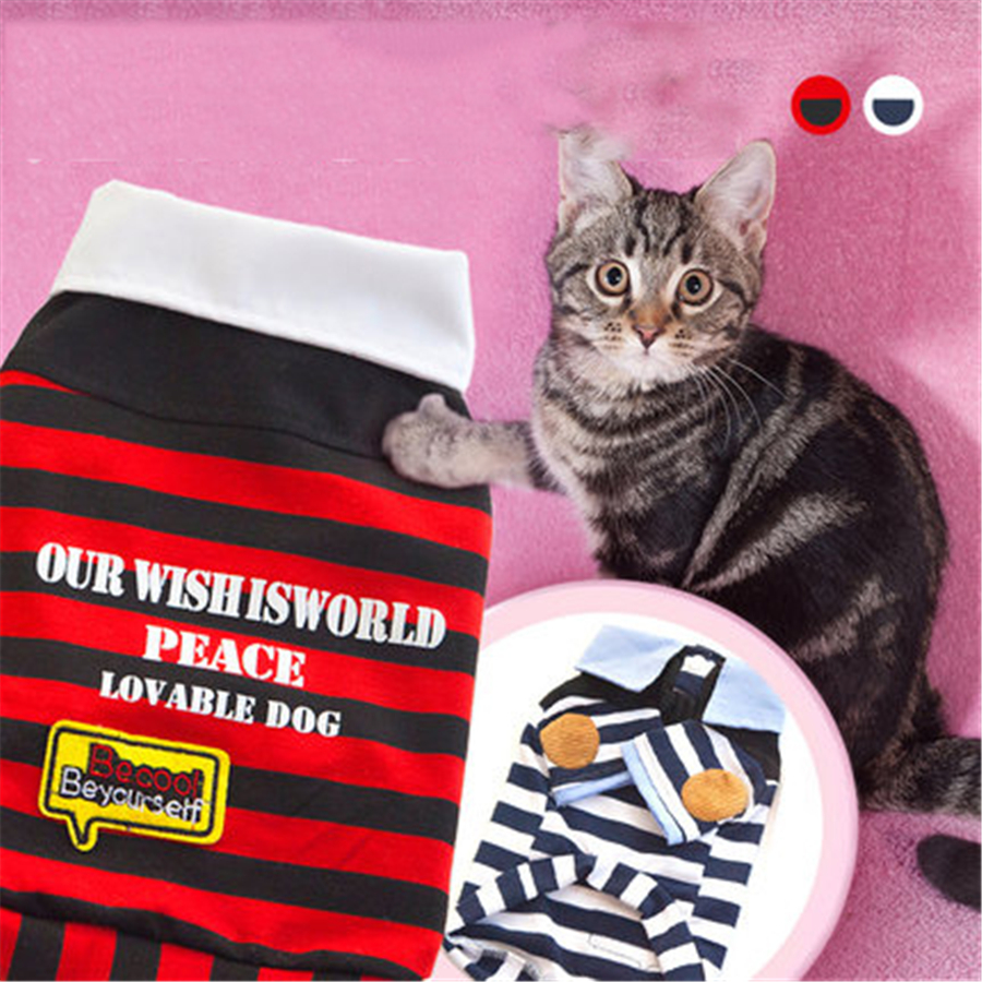 Funny Costume For Cats Pet Costume Roupa Para Cat Pet Puppy Pajamas Clothing Suit Police Hats For Cats Costume QQM1971