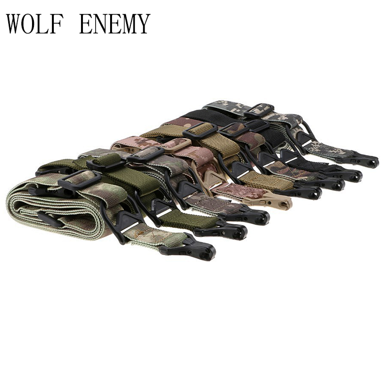 Gen 3rd 2 Point Air Soft Multi Mission Tactical Shoulder Straps Sling Hunting Gun Access ...