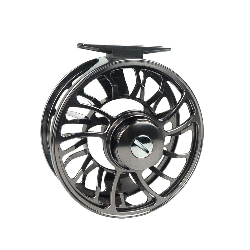 Aventik Quality Super Large Arbor Fishing Wheel Carbon Drag System Fly Fishing Reel