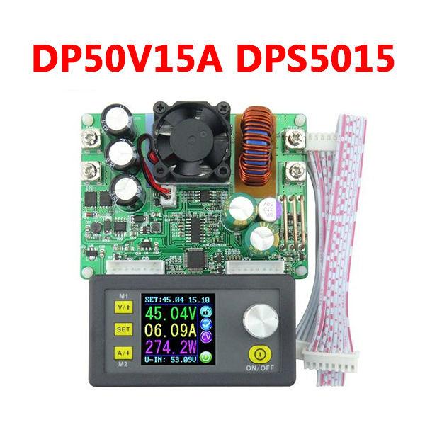 Prix pour DP50V15A DPS5015 Programmable Module D'alimentation Avec Intégré Voltmètre Ampèremètre Écran Couleur Livraison Gratuite