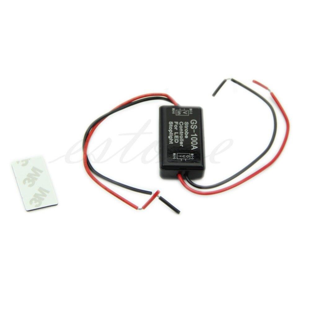 2017 B86 Hot Flash Strobe Controller Flasher Module For LED Brake Stop Light 12V JUN14