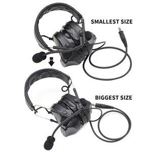 Image 5 - COMTAC III tac tex SKYcomtac iii silikon earmuffs gürültü azaltma pikap hava tabancası askeri çekim earmuffs taktik kulaklık C3BK