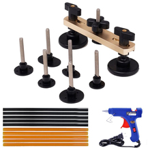Pops-a-dent Bridge Dent Puller Kits with 10pcs Glue Sticks Hot Melt Glue Gun PDR Tools