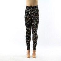 e129fashion womens bottoms high elastic pants capris comfortable plus leggings american style popular print free shipping xxxxxl