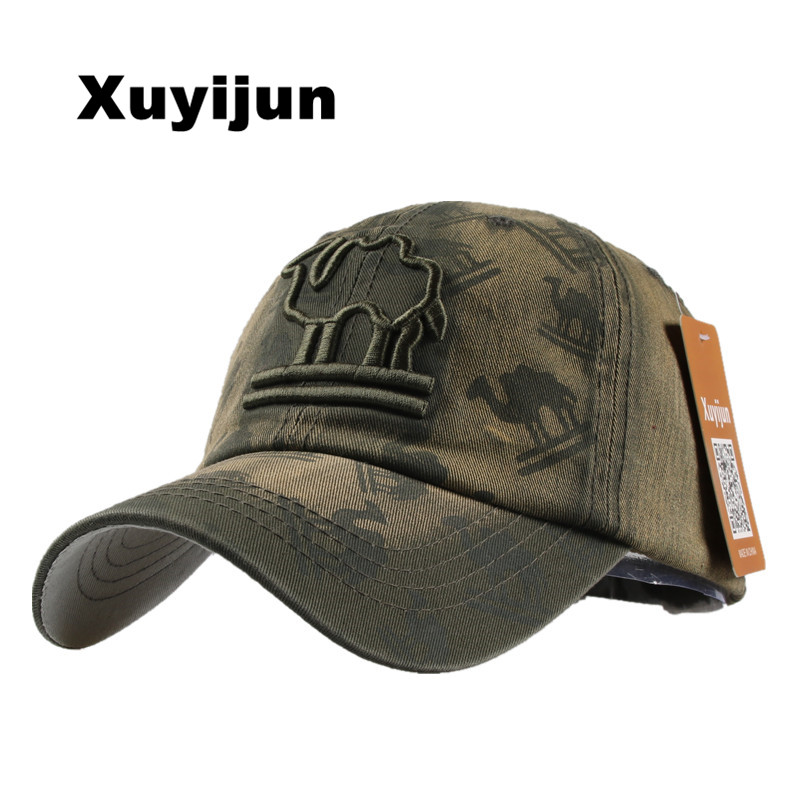 XUYIJUN 2017 alphabet embroidered baseball cap spring retro cotton gorras bones cap broken retro snapback hat for men and woman 100% cotton army baseball cap five pointed star embroidered flat top hat for men and women