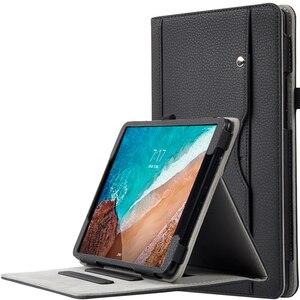 Funda de cuero PU para Xiaomi Mipad 4 plus funda inteligente protectora para Xiaomi 10 MiPad 10,1 pulgadas Tablet PC funda de negocios