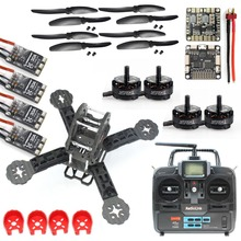 DIY Toys RC FPV Drone Mini Racer Quadcopter Kit 190mm SP Racing F3 Deluxe Flight Controller RadioLink T6EHP-E Remote Controller