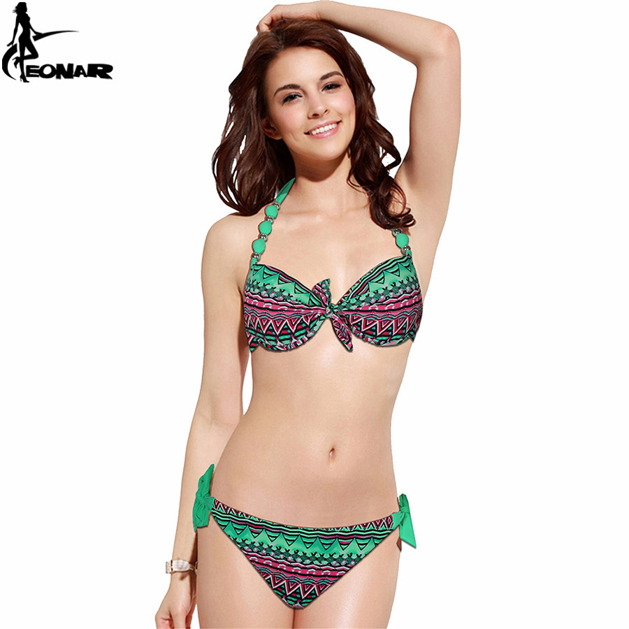 EONAR Bikini 19 Offer Combined Size Swimsuit Push Up Brazilian Bikini Set Bathing Suits Plus Size Swimwear Female XXL 12